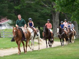 Riding In The Clouds Horseback Riding At Castle In The
