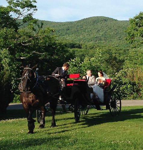 Castle In The Clouds Wedding: Horseback Riding At Castle In The